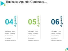 Business Agenda Template 1 Ppt PowerPoint Presentation Icon Format Ideas