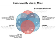 Business Agility Maturity Model Ppt PowerPoint Presentation Infographic Template Graphics Design Cpb