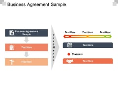 Business Agreement Sample Ppt PowerPoint Presentation Icon Diagrams Cpb