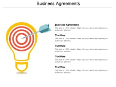 Business Agreements Ppt PowerPoint Presentation Ideas Graphics