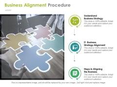 Business Alignment Procedure Ppt PowerPoint Presentation Infographics Smartart