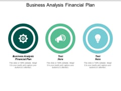 Business Analysis Financial Plan Ppt PowerPoint Presentation Gallery Show Cpb