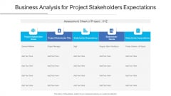 Business Analysis For Project Stakeholders Expectations Ppt PowerPoint Presentation Infographic Template Outfit PDF