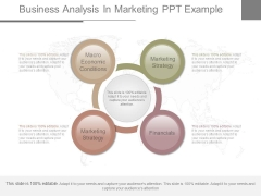 Business Analysis In Marketing Ppt Example