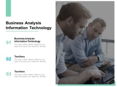 Business Analysis Information Technology Ppt PowerPoint Presentation Summary Introduction Cpb