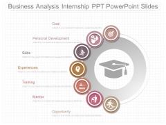 Business Analysis Internship Ppt Powerpoint Slides