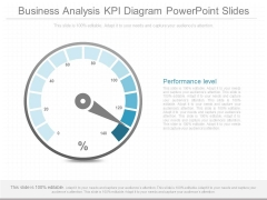 Business Analysis Kpi Diagram Powerpoint Slides
