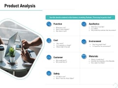 Business Analysis Of New Products Product Analysis Ppt Icon Background Designs PDF
