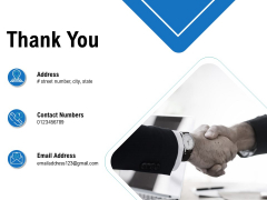 Business Analysis Of New Products Thank You Ppt Styles Objects PDF