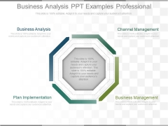 Business Analysis Ppt Examples Professional