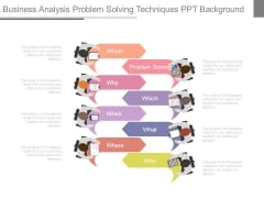 Business Analysis Problem Solving Techniques Ppt Background