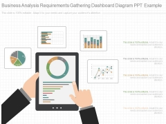 Business Analysis Requirements Gathering Dashboard Diagram Ppt Example