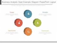 Business Analysis Swat Example Diagram Powerpoint Layout