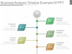 Business Analysis Timeline Example Of Ppt
