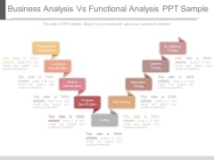 Business Analysis Vs Functional Analysis Ppt Sample