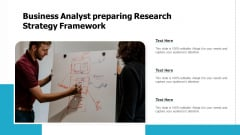 Business Analyst Creating Research Plan Model Ppt PowerPoint Presentation Infographics Slides PDF