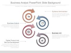 Business Analyst Powerpoint Slide Background
