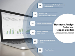 Business Analyst Roles And Responsibilities Ppt PowerPoint Presentation Icon Master Slide PDF