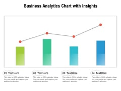 Business Analytics Chart With Insights Ppt PowerPoint Presentation Slides Guidelines PDF