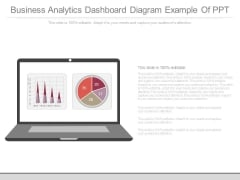 Business Analytics Dashboard Diagram Example Of Ppt