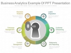 Business Analytics Example Of Ppt Presentation