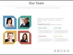 Business Analytics Team Structure Powerpoint Slides
