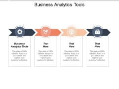 Business Analytics Tools Ppt PowerPoint Presentation Pictures Design Ideas Cpb