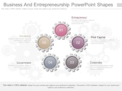 Business And Entrepreneurship Powerpoint Shapes