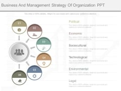 Business And Management Strategy Of Organization Ppt