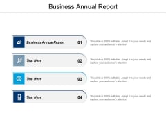 Business Annual Report Ppt PowerPoint Presentation Ideas Background Image Cpb