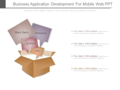 Business Application Development For Mobile Web Ppt