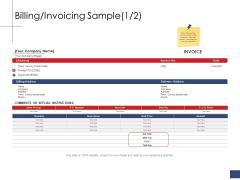Business Assessment Outline Billing Invoicing Sample Ppt Portfolio Slide Portrait PDF