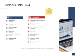 Business Assessment Outline Business Plan Competition Ppt Infographic Template Graphics Example PDF