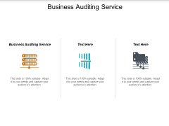 Business Auditing Service Ppt PowerPoint Presentation Icon Gallery Cpb