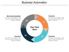 Business Automation Ppt PowerPoint Presentation Outline Design Ideas Cpb