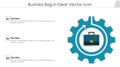 Business Bag In Gear Vector Icon Ppt PowerPoint Presentation File Graphics Example PDF