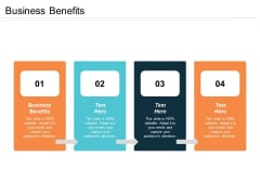 Business Benefits Ppt PowerPoint Presentation Summary Grid Cpb