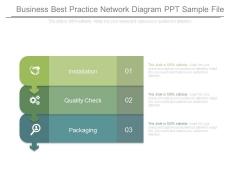 Business Best Practice Network Diagram Ppt Sample File
