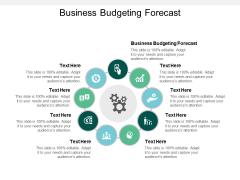 Business Budgeting Forecast Ppt PowerPoint Presentation Portfolio Slide Download Cpb
