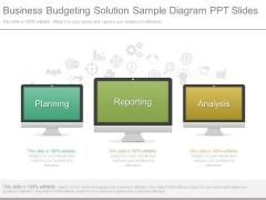 Business Budgeting Solution Sample Diagram Ppt Slides