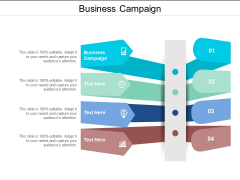 Business Campaign Ppt PowerPoint Presentation Ideas Smartart