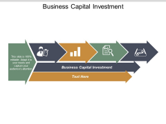 Business Capital Investment Ppt PowerPoint Presentation Images Cpb
