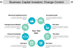 Business Capital Investors Change Control Module Project Scheduling Ppt PowerPoint Presentation Ideas Example File