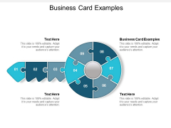 Business Card Examples Ppt PowerPoint Presentation Gallery Good Cpb