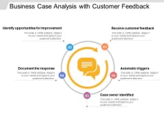 Business Case Analysis With Customer Feedback Ppt PowerPoint Presentation File Designs PDF
