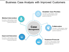 Business Case Analysis With Improved Customers Ppt PowerPoint Presentation Gallery Mockup PDF