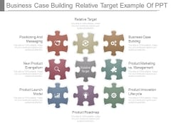 Business Case Building Relative Target Example Of Ppt
