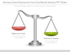 Business Case Development And Cost Benefit Analysis Ppt Slides