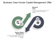 Business Case Human Capital Management Offer Development Process Ppt PowerPoint Presentation Show Inspiration