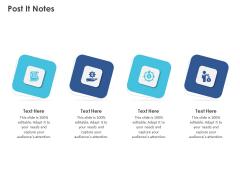 Business Case Studies Stagnant Industries Post It Notes Ppt Outline Slides PDF
